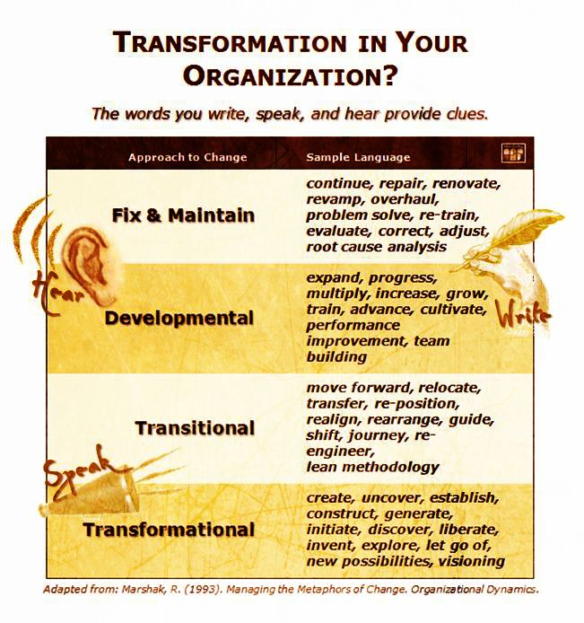 transformation how to spot it in your organization